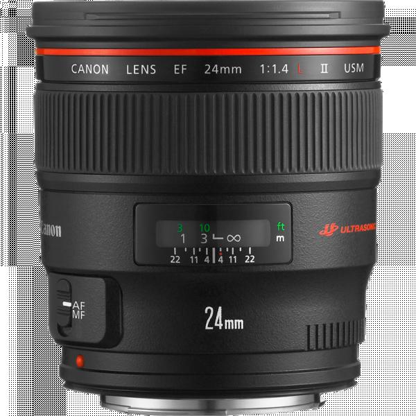 Canon 24mm F/1.4L II