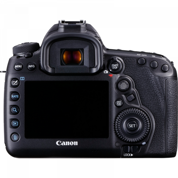 Canon 5d mk IV rear