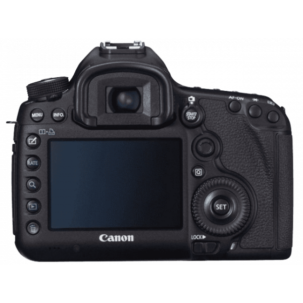 Canon 5D MKiii Back