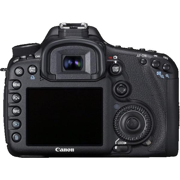 Canon 7D Back