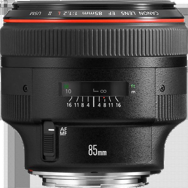 Canon 85mm f/1.2L II