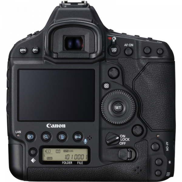 Canon EOS-1D X Mkii back