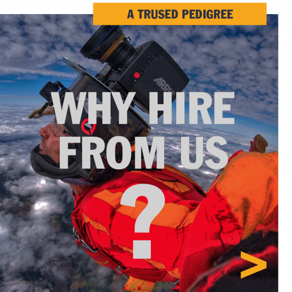 Why hire from us?