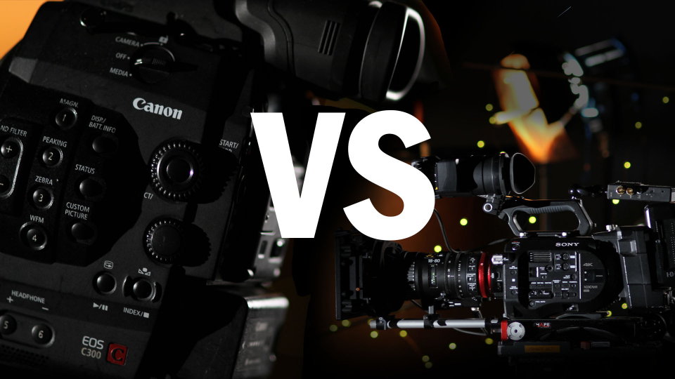 Canon C300 vs Sony PXW-FS7